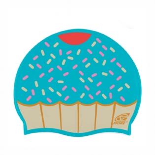 7b9e5a144 Touca Silicone Para Natação Cupcake