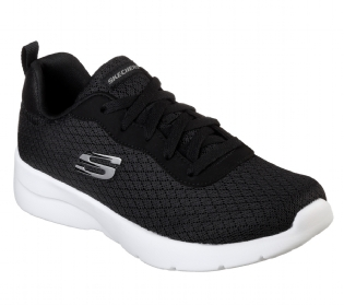 Tênis Skechers Dynamight 2.0 Eye To Eye  Black White Feminino