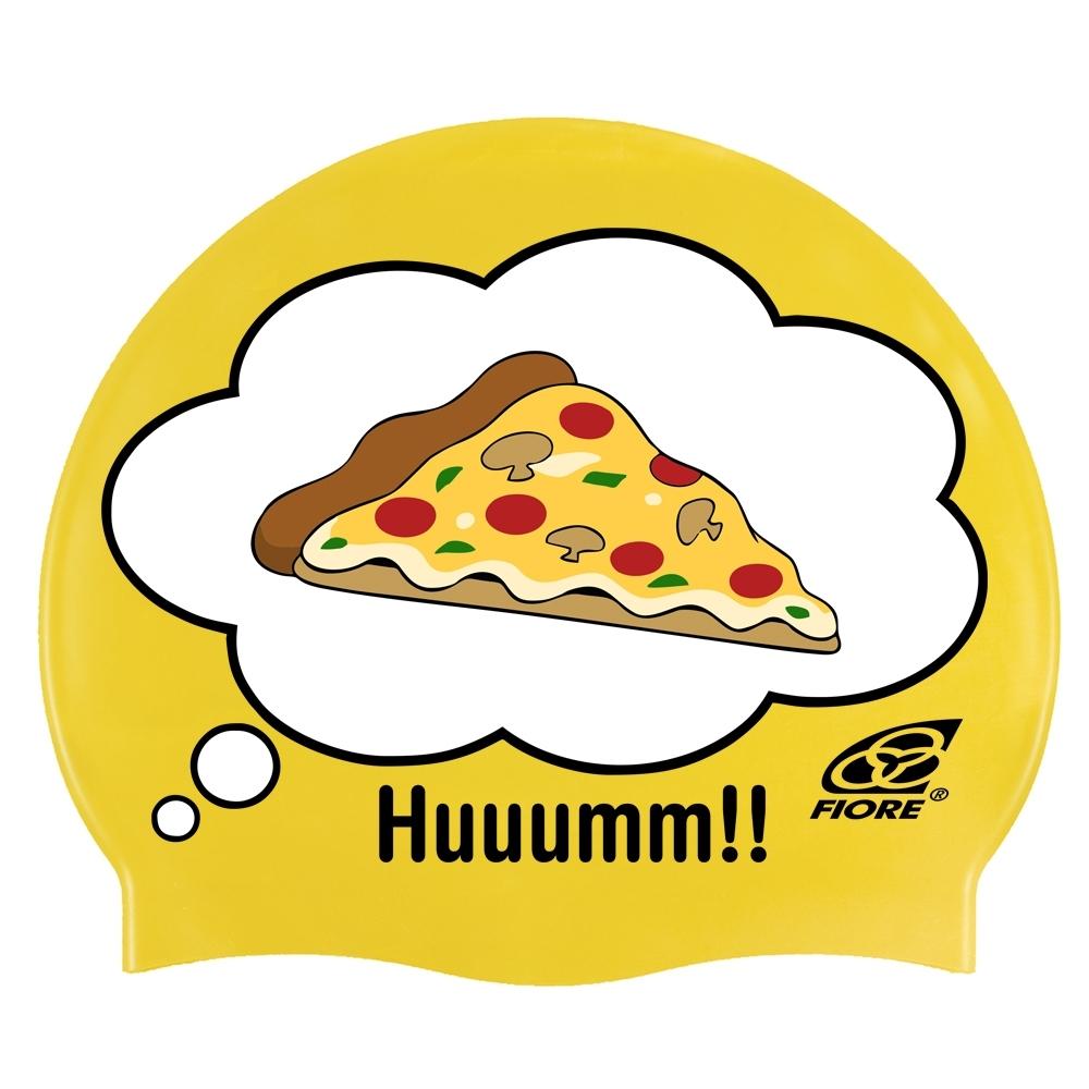 Touca De Silicone Para Natação Huuumm Pizza 8b0ff74428e